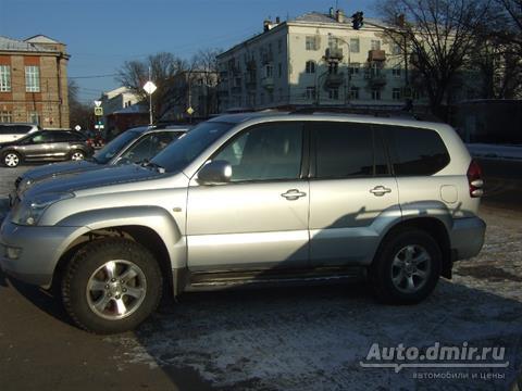 купить toyota land cruiser prado тойота прадо 2003 г.в. в липецке по цене 950000 руб. autodmir.ru автомобили и цены